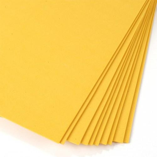Фоамиран темно-желтый 2 мм А4
