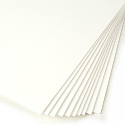 Фоамиран белый 2 мм А4