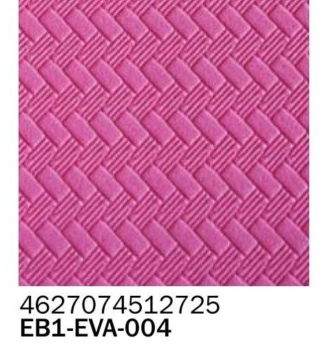 Фоамиран текстурный косичка фуксия 2 мм А4