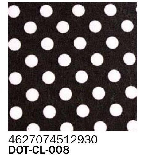 Фоамиран горох на черном фоне 2 мм А4
