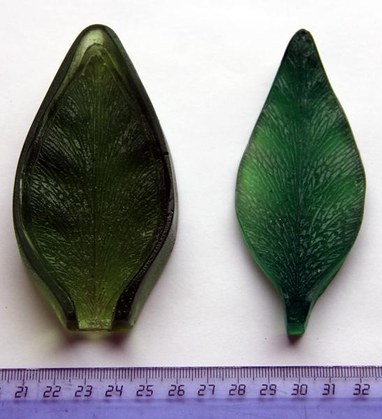 Молд лепесток лилии двухсторонний 043