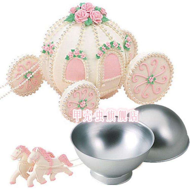Комплект форм для выпечки Карета