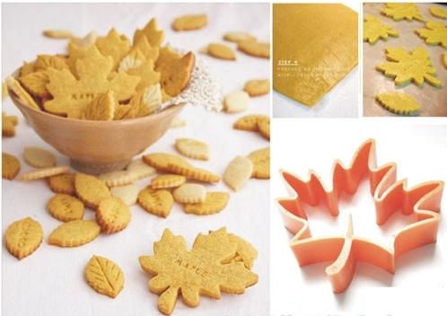 Вырубка для печенья Кленовый лист
