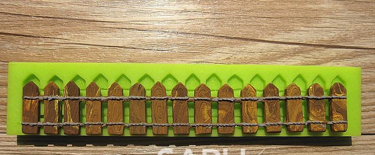 Форма для мастики Забор