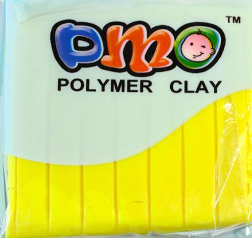 Полимерная глина неоновый желтый 75