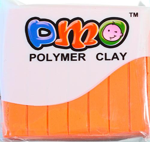Полимерная глина неоновый оранжевый 64