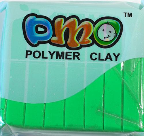 Полимерная глина неоновый салатовый 63