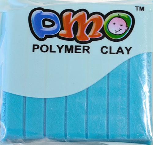 Полимерная глина люминистцент голубой 100
