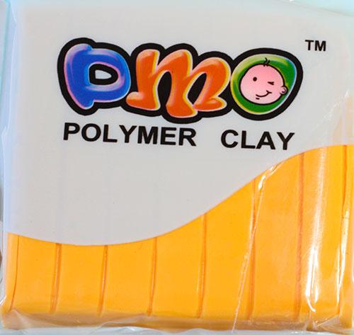Полимерная глина желтый 10