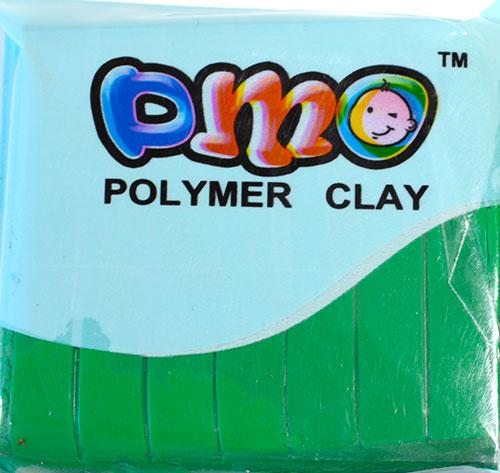 Полимерная глина зеленый 17