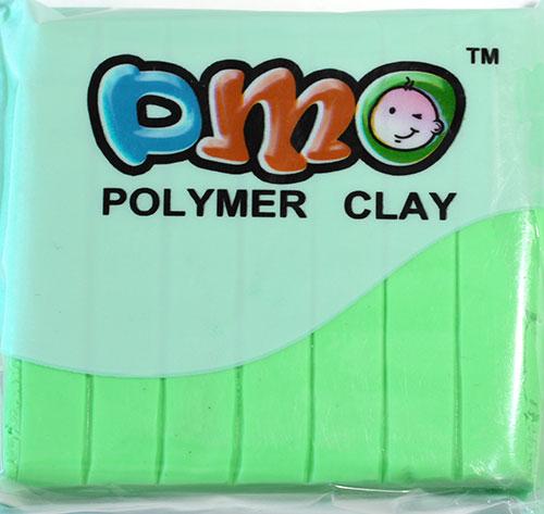 Полимерная глина салатовый 27