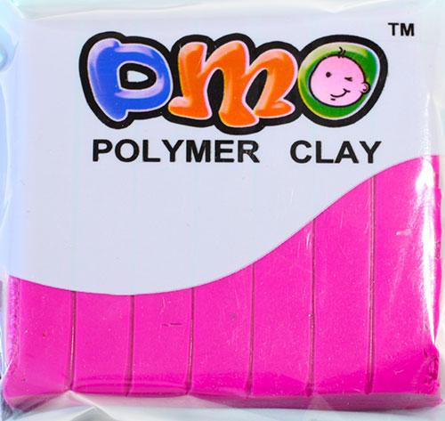 Полимерная глина тем - малиновый 21