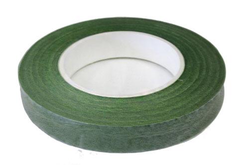 Лента флористическая темно-зеленая