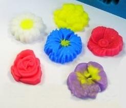 Форма силикон мини Цветочный набор Лилу