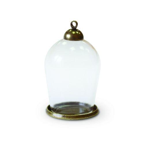 Набор стеклянный мини-колпак 30х18 мм