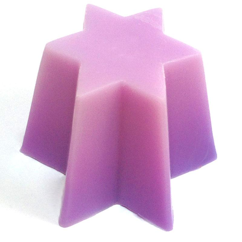 Форма пластиковая для свечей 6 лучей