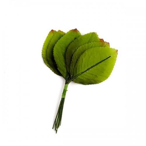 Лист тканевый зеленый 1 шт