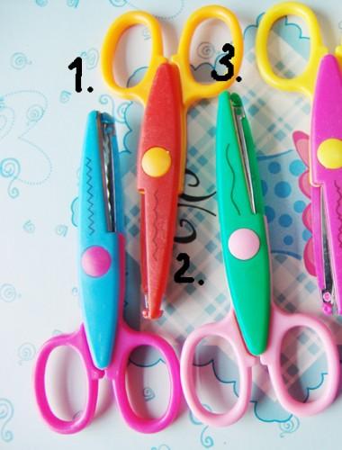 Ножницы фигурные лепестки ромашки 2