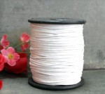 Шнур вощёный белый 1 метр
