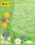 Набор формочек для пластики Цветы и листья