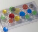 Набор формочек для пластики Круги мульти