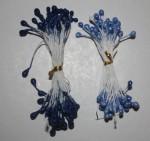 Тычинки синие 10 штук