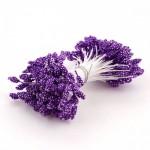 Тычинки фиолетовые 10 штук
