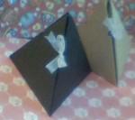 Коробка для мыла треугольная
