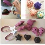 Ножницы для конфет, мылок, бомбочек