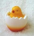 Форма силиконовая Цыпленок в яйце