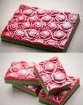 Форма пластиковая Розы под нарезку