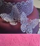 Форма силиконовая для мастики Нежное пархание