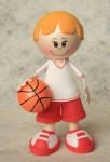 Набор из фоамирана Баскетболист