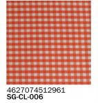 Фоамиран клетка красная 2 мм А4