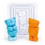 """Форма пластиковая """"Медвежонок Тедди 3D"""""""