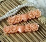 Молд Полоска с розами и сердцем