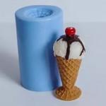 Форма силиконовая Рожок мороженого предзаказ