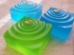 Форма силиконовая Листик на воде в наличии