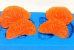 Форма силиконовая Дольки мандарина