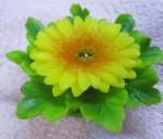 Форма силиконовая Хризантема с листьями предзаказ