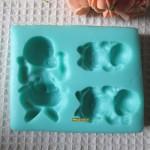 Форма силиконовая Набор малышей предзаказ