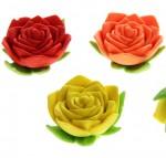 Ластик Розочка для вплавления в мыло