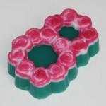 Форма пластиковая 8 марта из роз