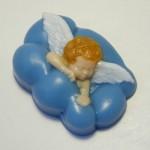 Форма пластиковая Ангел в облаках