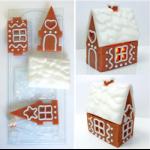 Форма пластиковая Пряничный домик 3D