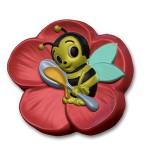 Форма пластиковая Веселая пчелка