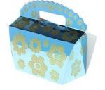Коробка для мыла сумочка в цветочек 023