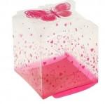 Коробка для мыла прозрачная 041