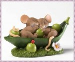 Форма силиконовая Мышки и горох