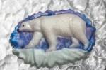 Форма пластиковая Белый медведь